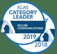 KLAS-Category-Leader-Secure-Communications-2019