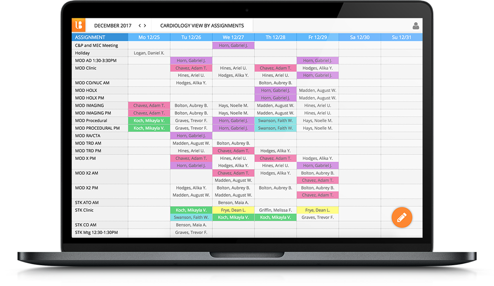 Physician-Scheduling-Cardiologists