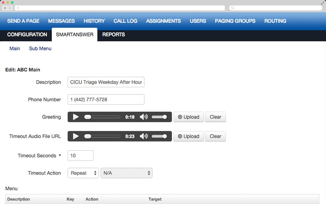 Interactive Voice Response