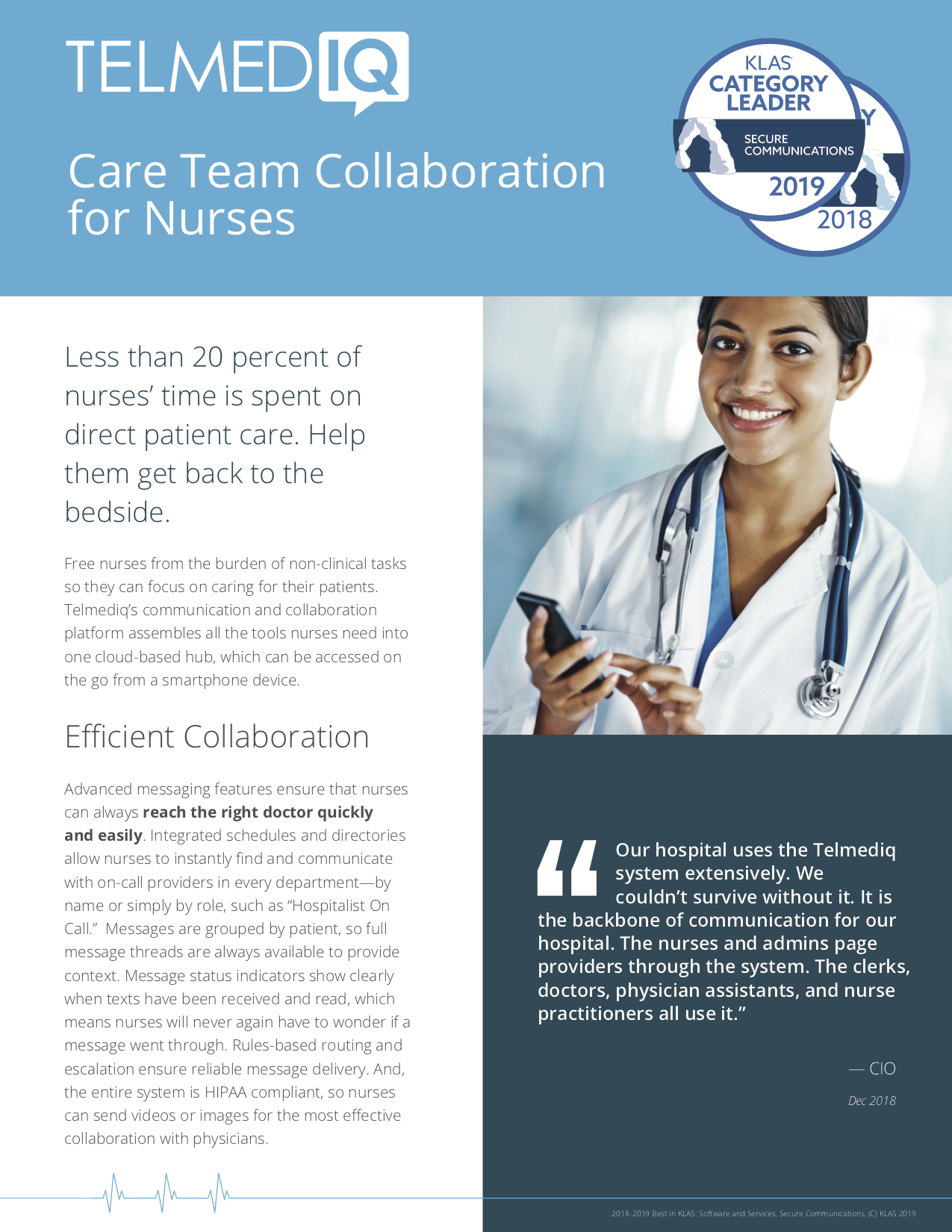 Telmediq Nurse-Executive-Summary
