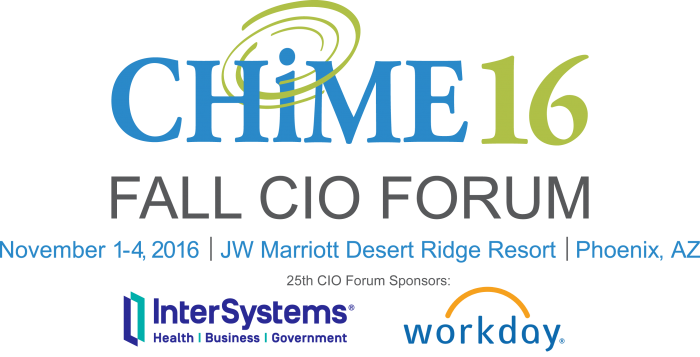 Connect with Telmediq at the CHIME CIO 2016 Forum & AMDIS' Fall Symposium