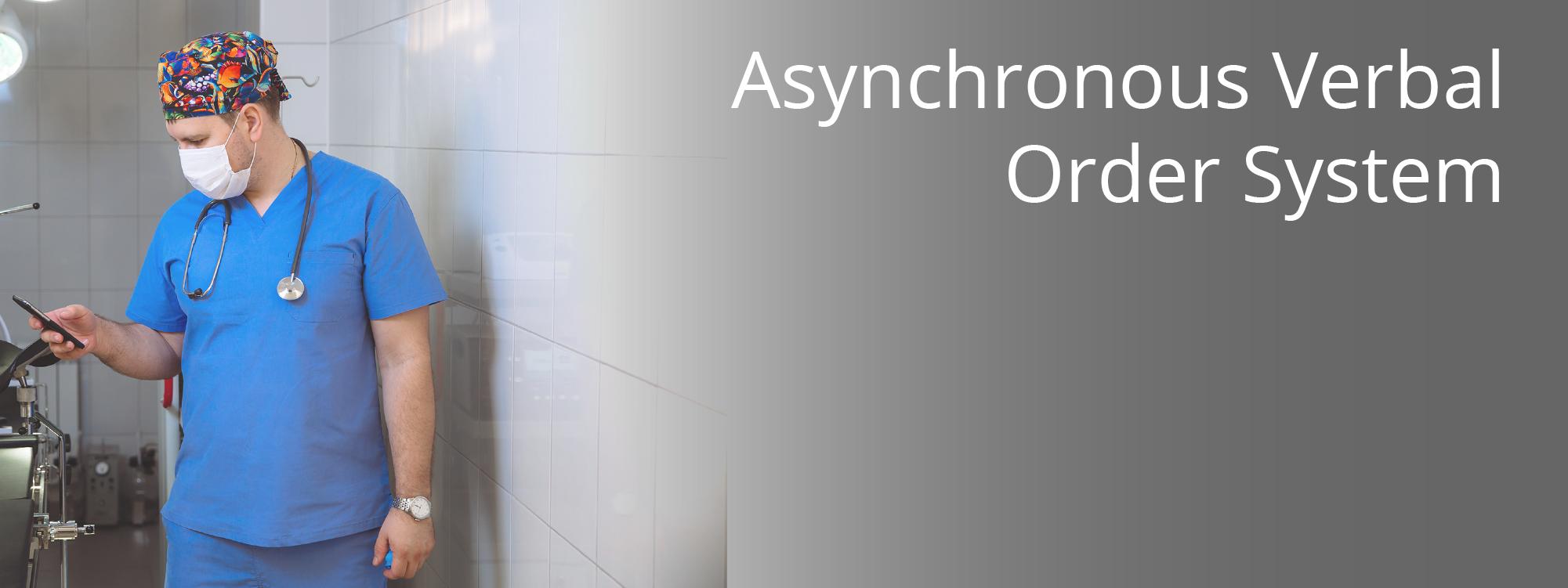 Telmediq Introduces Asynchronous Verbal Order System (AVOS)